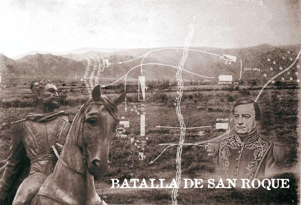 Valle de San Roque: estancia, capilla, campo de batalla y lago