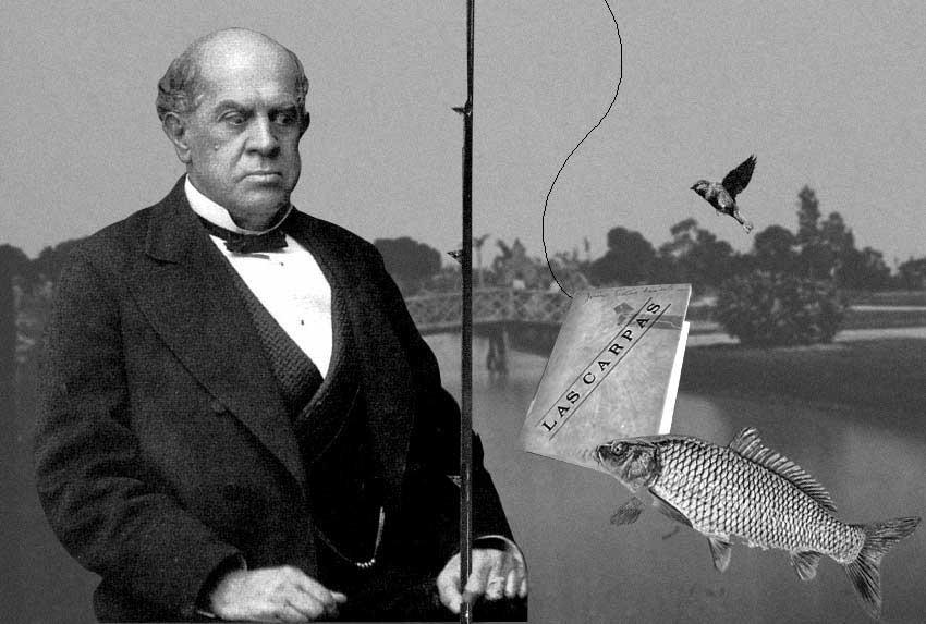Pescando historias: las carpas, los gorriones y Sarmiento